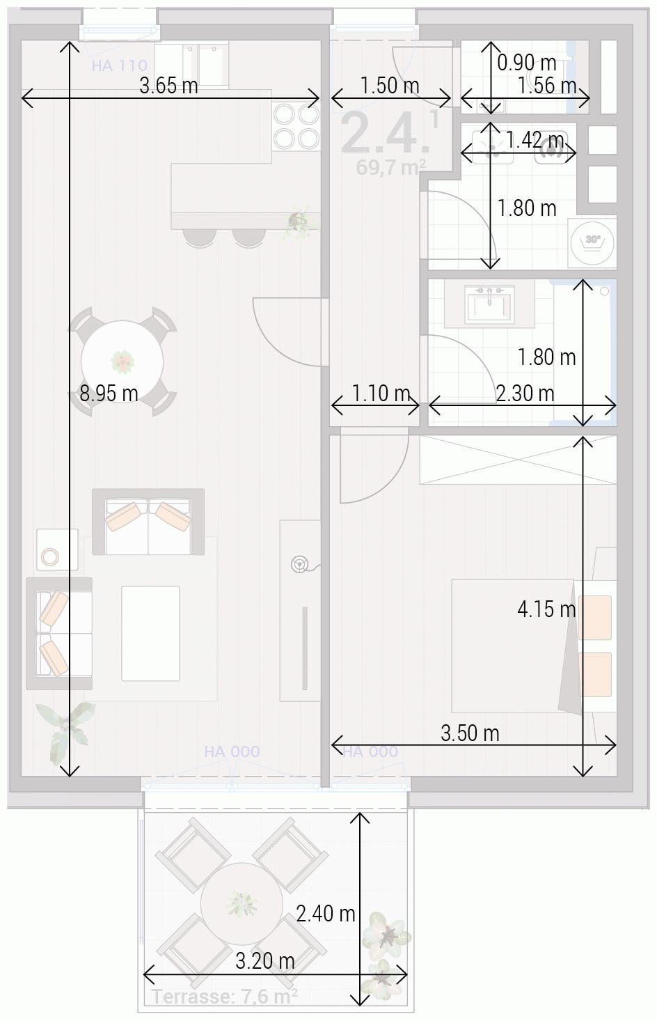 Appartement 2.4.