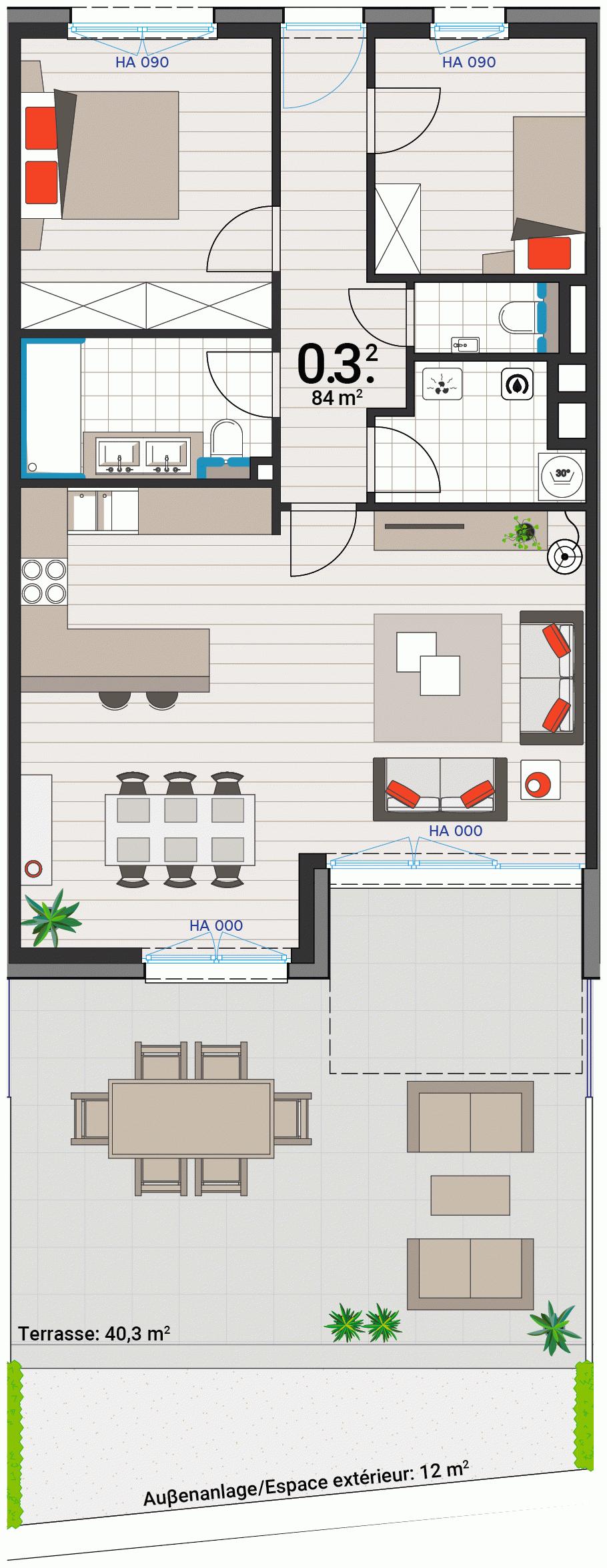 Appartement 0.3.