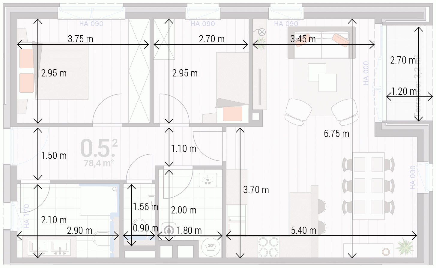 Appartement 0.5.