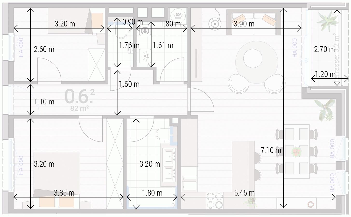 Appartement 0.6.